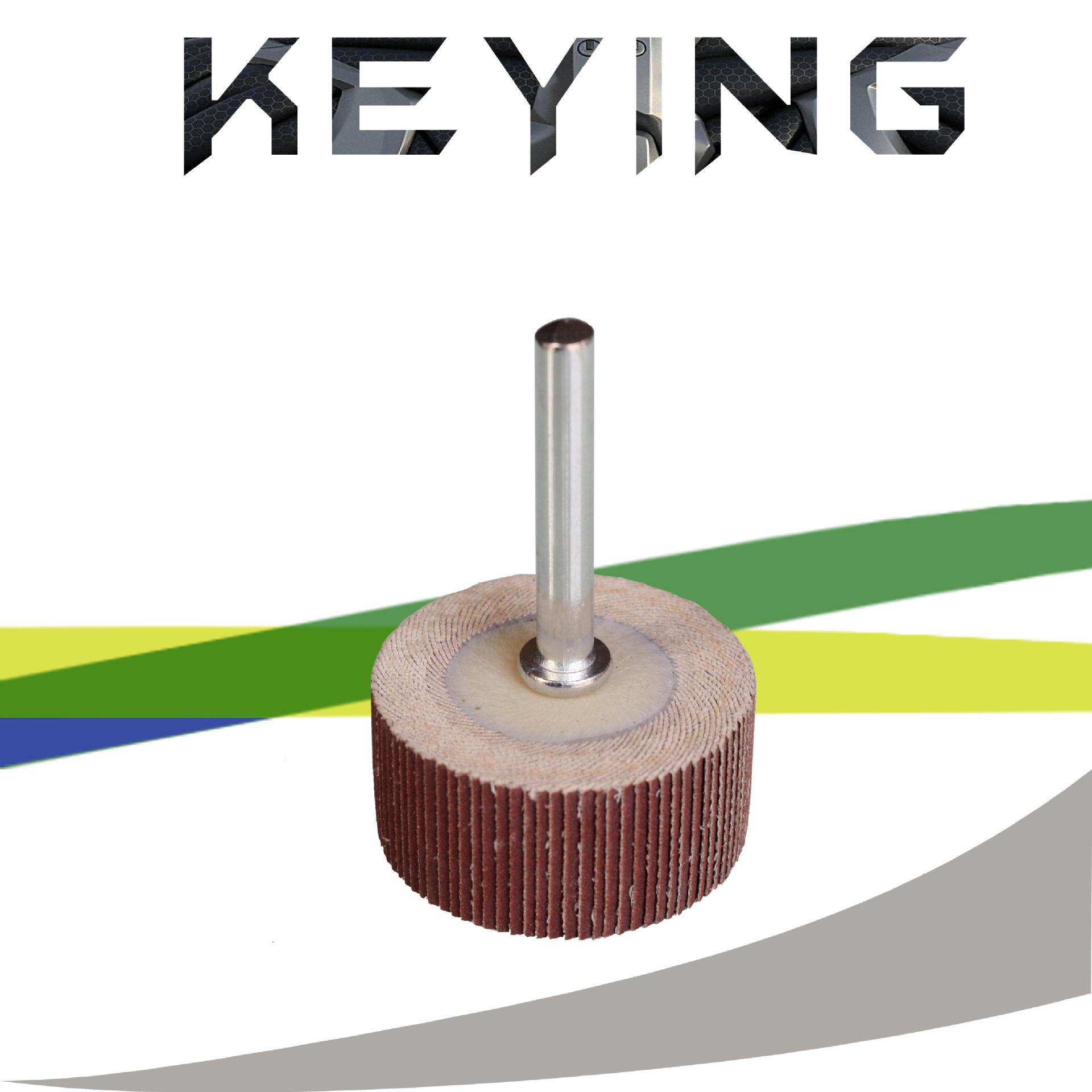 Keying Abrasives / 15 * 14 * 3 sống xử lý cánh quạt / trang bánh xe / đánh bóng bánh xe / mài đầu /