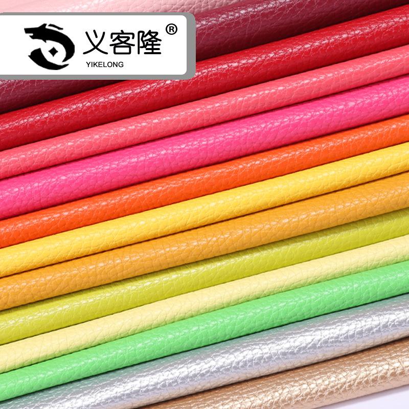 [Yi Ke Long] New tiêu chuẩn Châu Âu bảo vệ môi trường da vàng vải thiều sofa da không mùi pu da nhân
