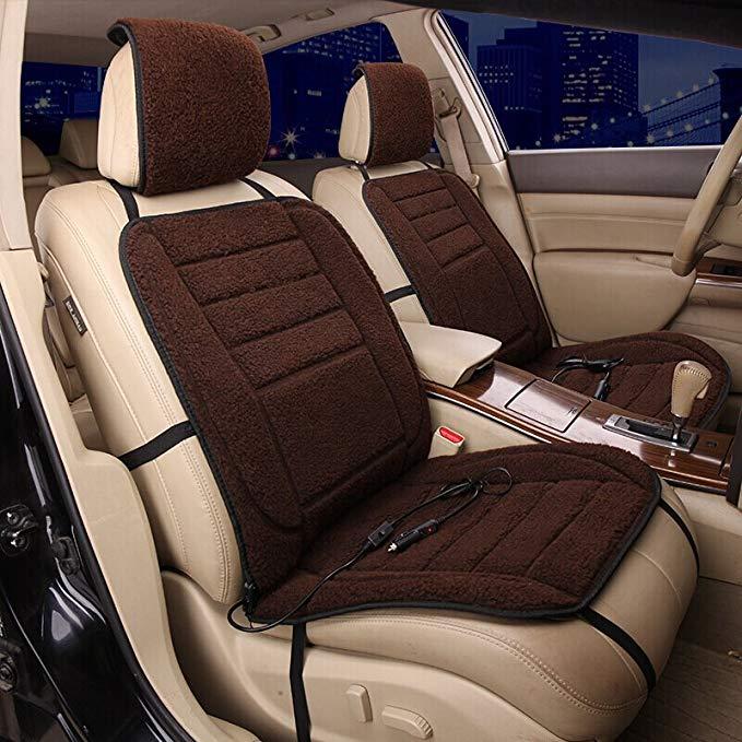 Osley xe điện sưởi ấm đệm phổ sưởi ấm đệm sưởi ấm xe ghế đệm thông minh sưởi ấm điện xe ghế đệm ma t