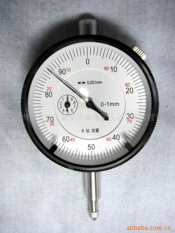 Đường kính quay số 40mm phạm vi 0 ~ 1mm chính xác 0.001mm độ chính xác cao con trỏ quay số đo