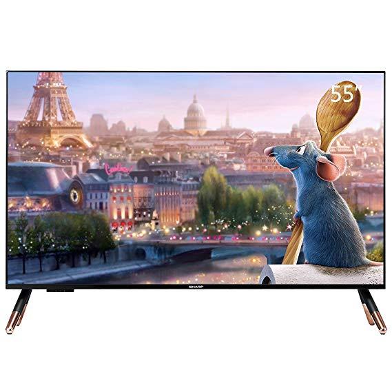 SHARP Sharp LCD-50SU671A 50-inch 4K Ultra HD Mạng wifi Thông Minh TV LCD TV Màu Đen