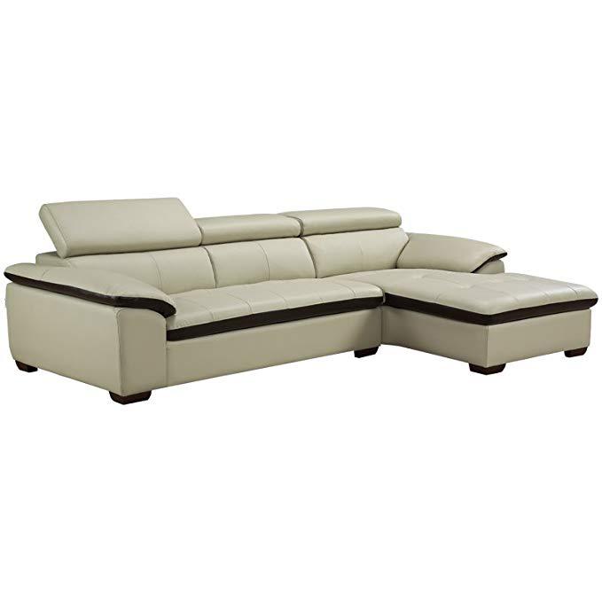 ZUOYOU trái và phải sofa da hình chữ L có kích thước nhỏ góc kết hợp da nghệ thuật sofa top lớp da đ