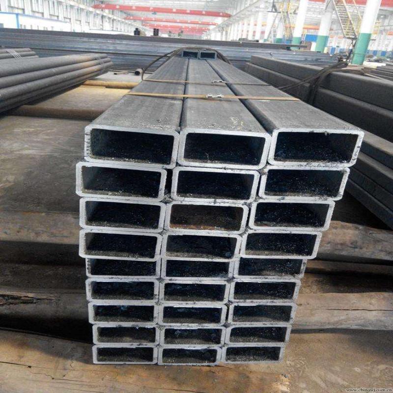 Sản xuất và chế biến ống thép vuông vuông phi tiêu chuẩn Q345B Ống thép hình chữ nhật rỗng hình chữ