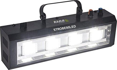 Ibiza Light & Sound STROBE80LED Đèn điện 4x 20W