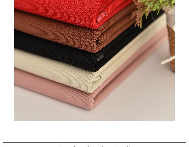 Nhà sản xuất chỉ tay đan len đan len vải dệt nổi hạ, thu, Đông... Rồi La mã lực đàn hồi vải đan len.