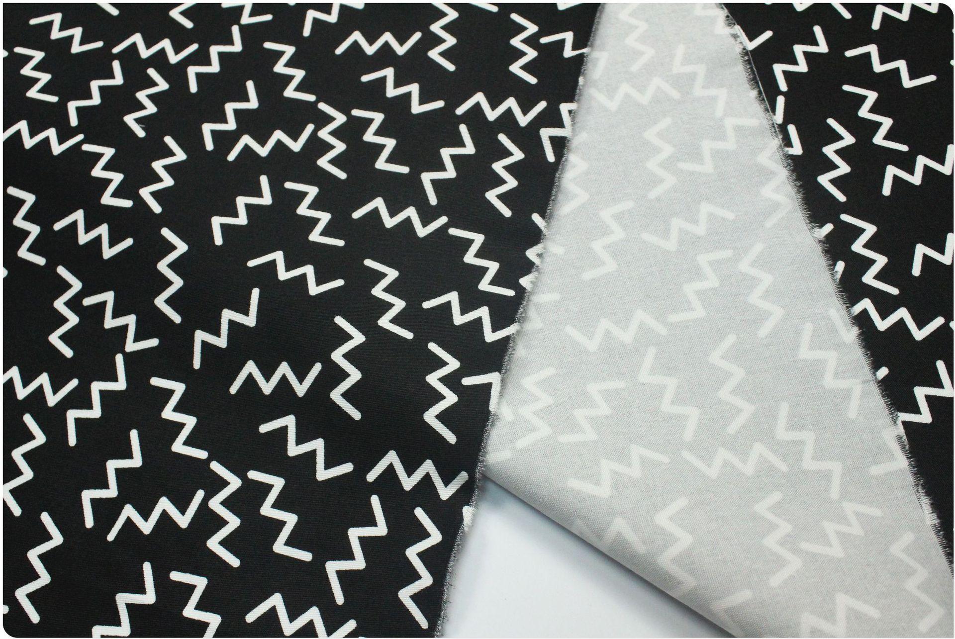 16*16+70D/90*40 lực đàn hồi bông đen trắng dưới đường nét thời trang cao cấp thủy ấn tem vải