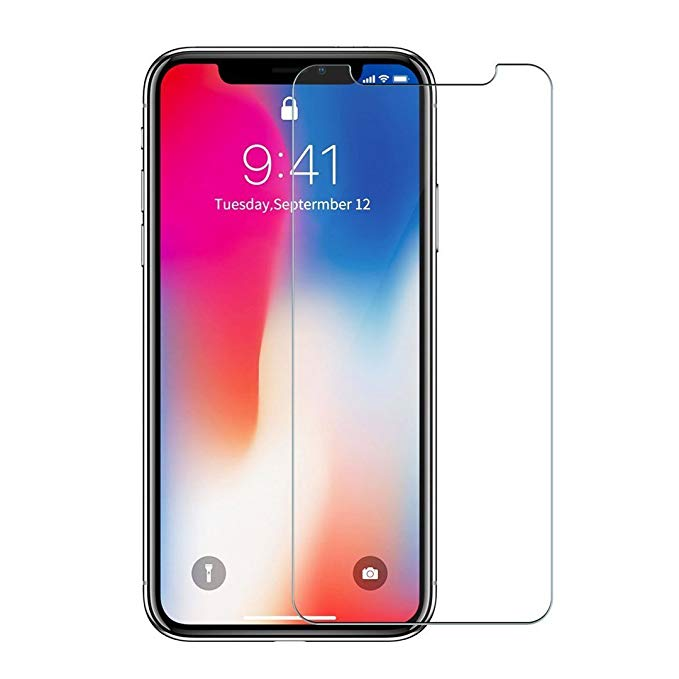 2 Gói 2.5D arc cạnh iPhone X tempered phim Apple X tempered phim iPhoneX tempered glass phim Apple X