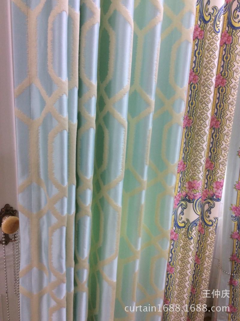 Nhà sản xuất mẫu đặc biệt màu chính xác cao màn nối digital tem vải nhung dày hàng xa xỉ vảis