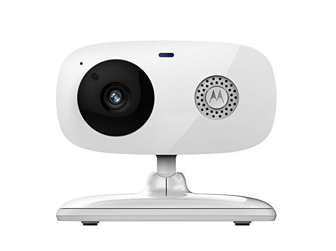 Motorola Focus 66 Camera giám sát âm thanh và video HD Wi-Fi HD, Trắng