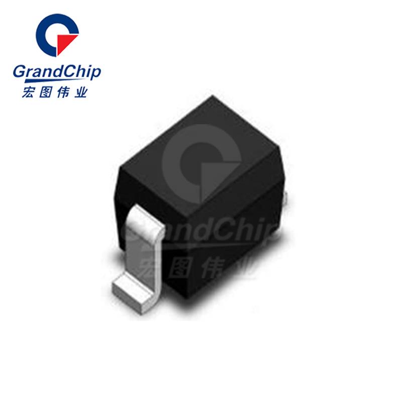 GBLC05C / SOD323 Thiết bị bảo vệ tạm thời điện dung thấp Linh kiện điện tử với đơn