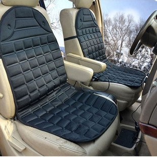 Jin Xiangshun mùa đông ghế đệm nhiệt sưởi ấm xe đệm sưởi ấm ghế đệm sưởi ấm chỗ ngồi (đôi, đen)