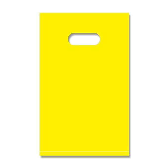 Heiko tote túi nhựa túi hd màu polycarbonate a4 màu vàng 25x40cm 50 tờ 006637375