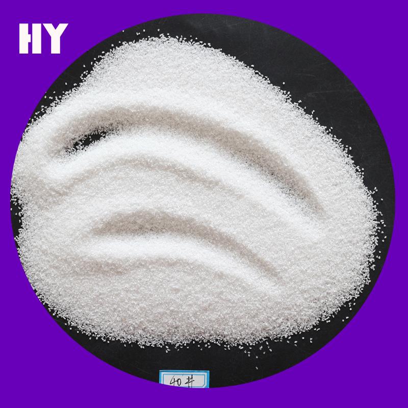 99,9 trắng corundum nổ mìn mài mòn vật liệu chịu lửa trắng corundum đánh bóng trắng corundum