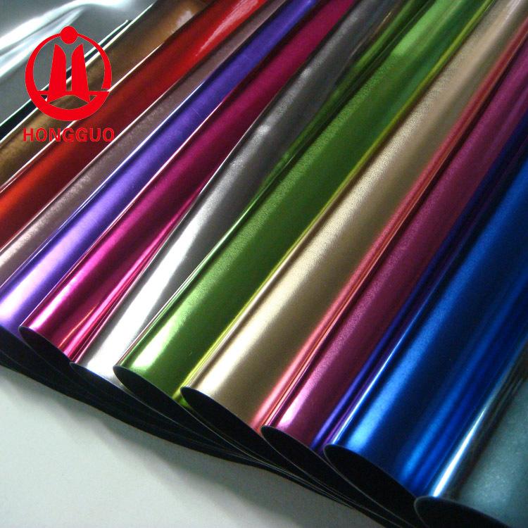 Chuyên sản xuất đàn hồi tóc cơ sở chống trầy xước gấp siêu sáng kim loại gương PU da tổng hợp giày t