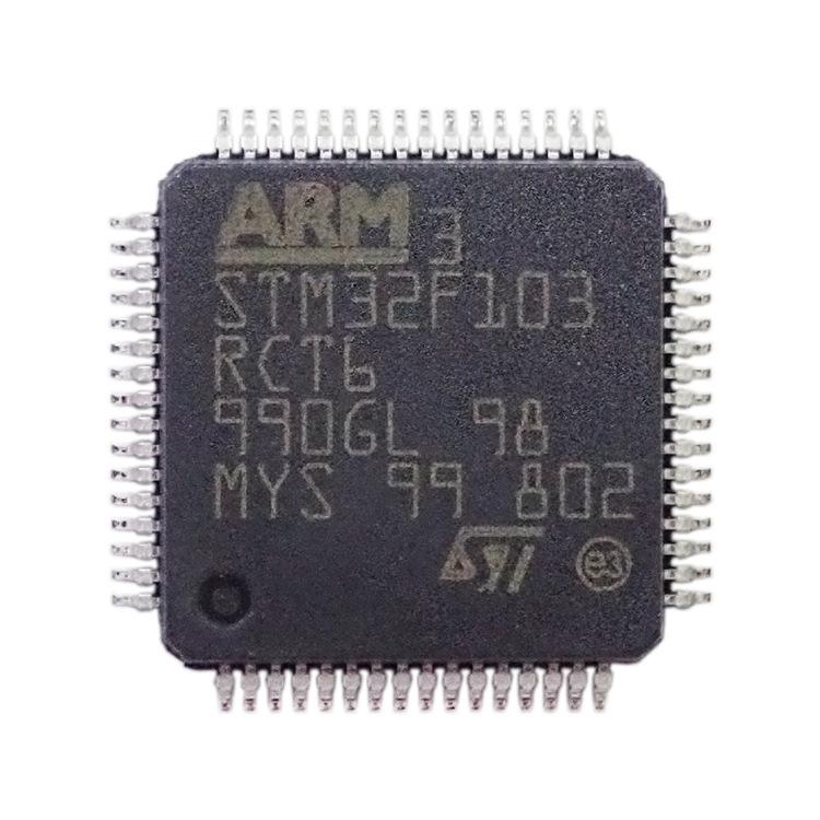 Lợi thế bán buôn mạch tích hợp chip IC STM32F103RCT6 đầy đủ tại chỗ Gốc chính hãng MCU