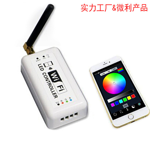 Điều khiển WIFI RGB dimmer điều chỉnh màu sắc nhiệt độ màu ba-trong-một điều khiển dẫn điều khiển