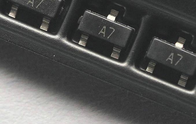 BAV99 A7 SOT-23 điện Transistor 0.2A / 70V mạch tích hợp linh kiện điện tử với đơn