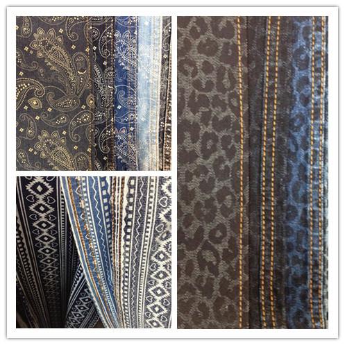 Nguồn cung mới - đan lớn 280GSM vải dệt nổi cao bồi kinh điển Đại Hạ, thu, Đông... Rồi dệt nổi denim