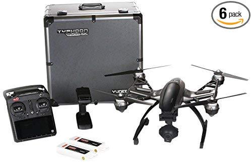 YUNEEC Q500 4K cyclone quadcopter với giỏ hàng-đen