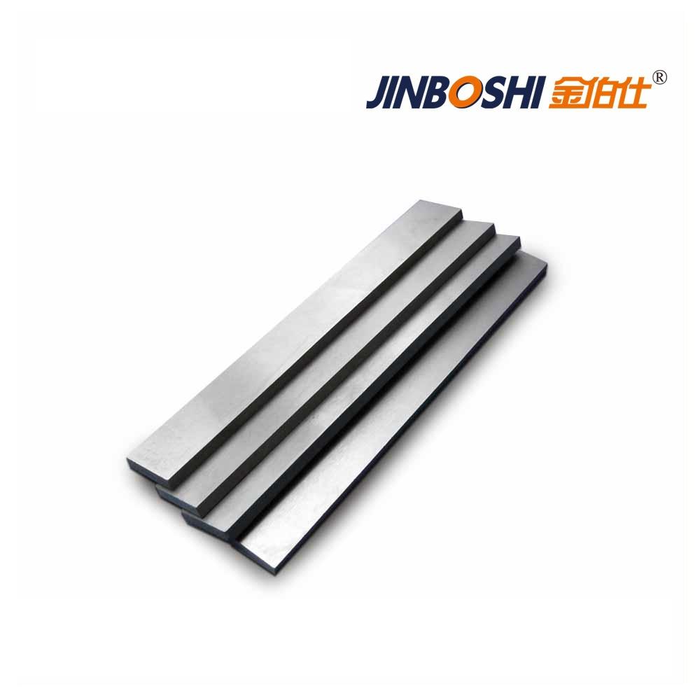 Nguyên liệu thép vonfram dải lưỡi hợp kim độ cứng cao phù hợp cho gỗ khô, nút chai, kim loại màu chế