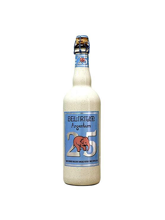 Bột Delirium nhập khẩu từ Bỉ chai bia trái cây 750ml chai đơn 4 hương vị tùy chọn (bột bạc)