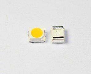 3528 SMD siêu sáng trắng LED ánh sáng phát ra Diode