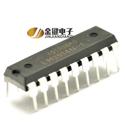 Cung cấp thương hiệu mới hiển thị ban đầu điều khiển tích hợp IC LM3914N-1 gốc xác thực
