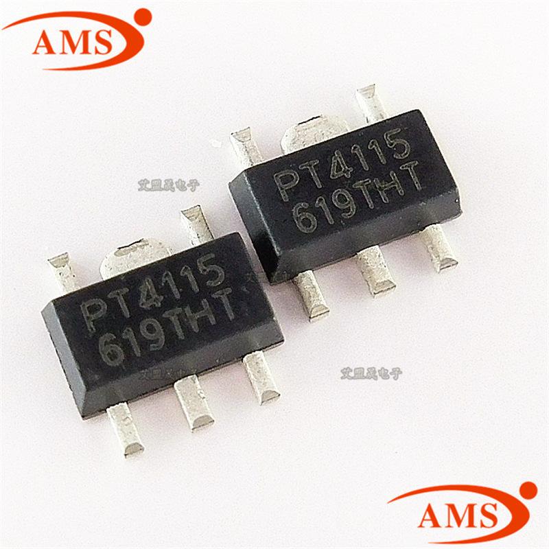 PT4115B89E PT4115 SOT89-5 bước xuống liên tục hiện tại con chip lớn DẪN IC điều khiển vị trí mới