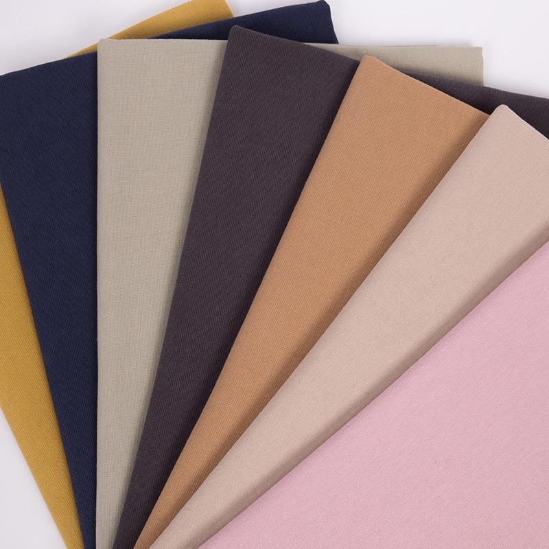 Bông vải cotton pha trộn hai tông màu mới vào mùa xuân và mùa hè. Quần áo trẻ em thời trang vải cott