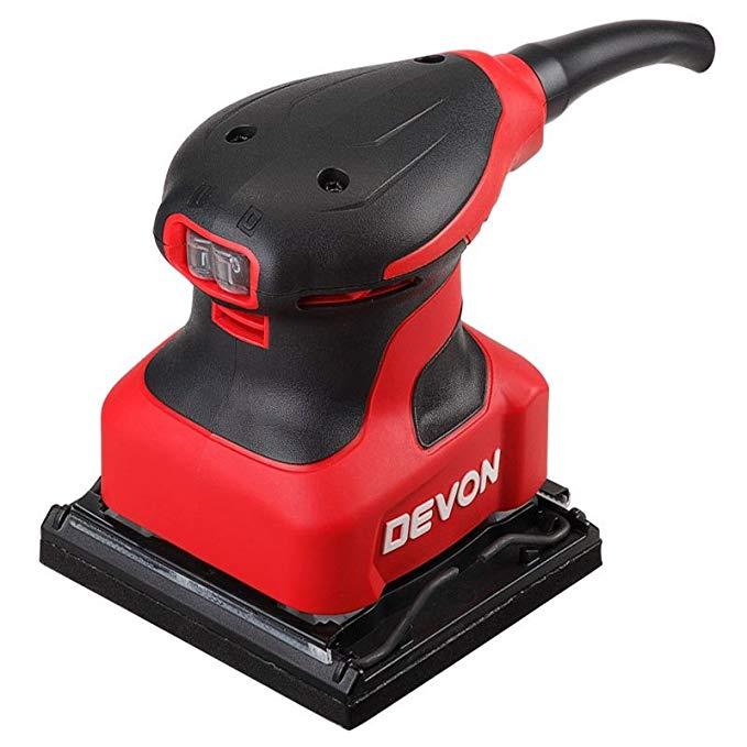 DEVON có 2213 1/4 giấy nhám máy phẳng máy chà nhám mài sanding máy đánh bóng gỗ chế biến gỗ power to
