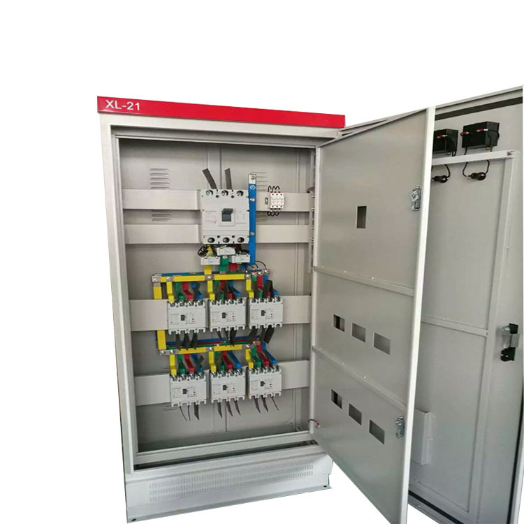 Tủ phân phối điện hạ thế Tủ điện điều khiển công nghiệp XL-21 Công tắc rò rỉ mạch Tủ điều khiển Hộp