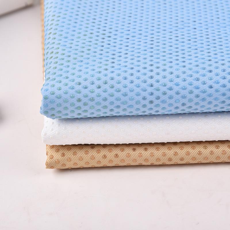 Nhà máy trực tiếp đồng phục PVC thả chống trượt vải tùy chỉnh Polyester silicone chống trượt vải chứ