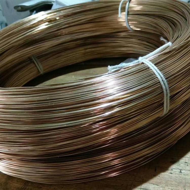 Cung cấp dây đồng QBE2 qbe2 đai đồng cao đàn hồi hợp kim kim loại màu