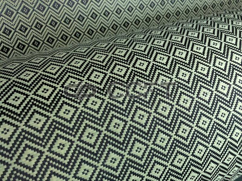 Vải dệt nổi vải sợi carbon - carbon phương lẫn lộn C - type