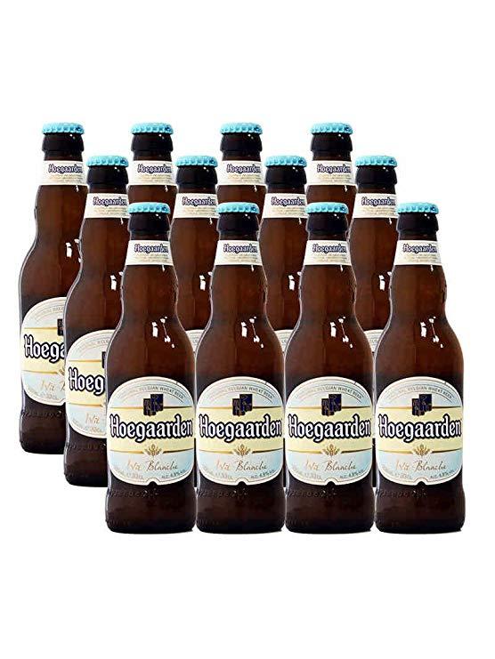 Fuga Bỉ nhập khẩu bia Hoegaarden trắng bia lúa mì trái cây bia 330 ml * 12 chai