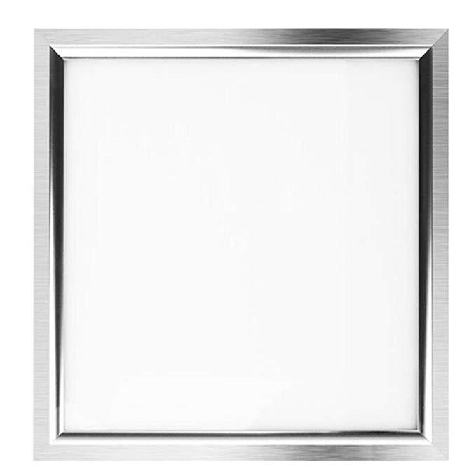 NVC NVC tích hợp trần LED light LED ánh sáng nhà bếp ánh sáng trắng 9 Wát khung bạc 30 * 30 cm