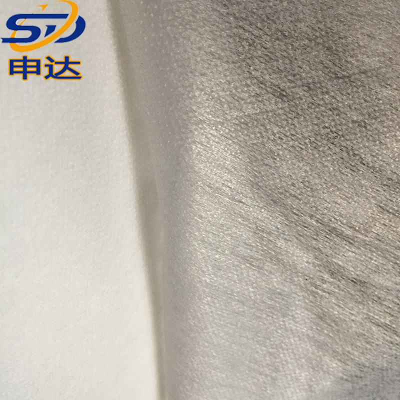 Lớp lót không dệt Cung cấp hỗn hợp 1,5m sử dụng lớp keo dính đôi 30g