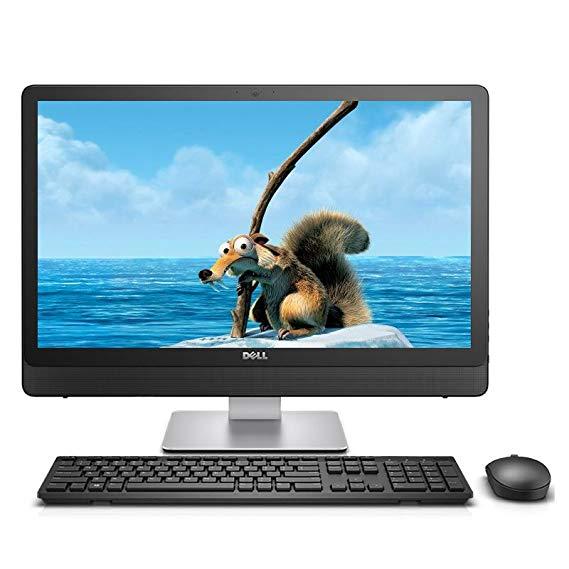 Dell (DELL) Vostro 5460-R2548BS 23.8-inch tất cả-trong-một máy tính (i5-7400T 8G 1TB + 128 GB SSD 4G