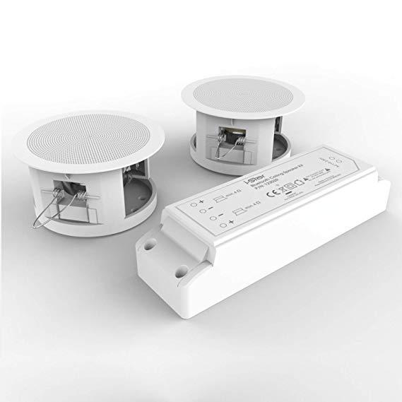 Bộ loa hoàn chỉnh loa trần Bluetooth iStar - Dễ lắp đặt loa trần để cắt giảm ánh sáng hiện tại Dễ dà
