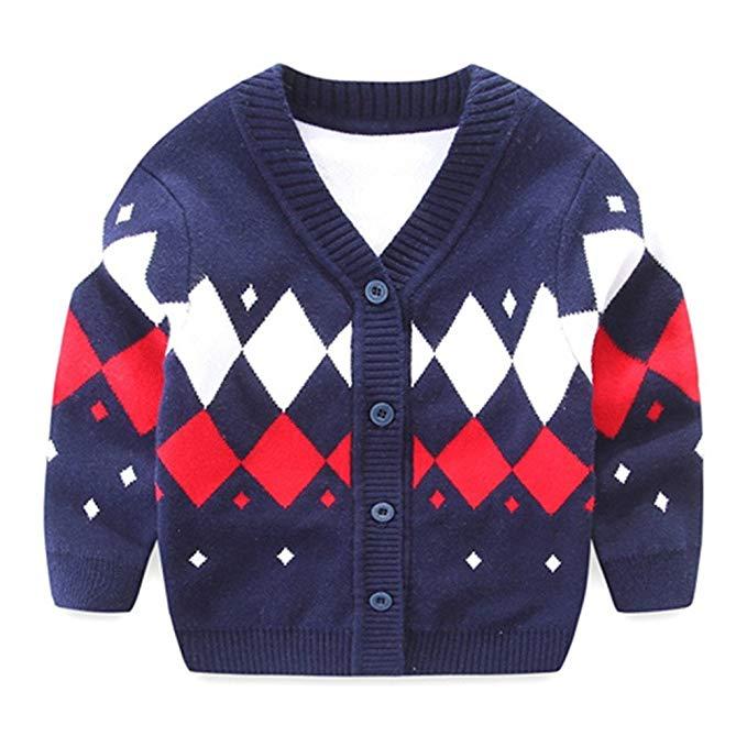 Áo len trẻ em tay dài nhiều màu Iridescentlife