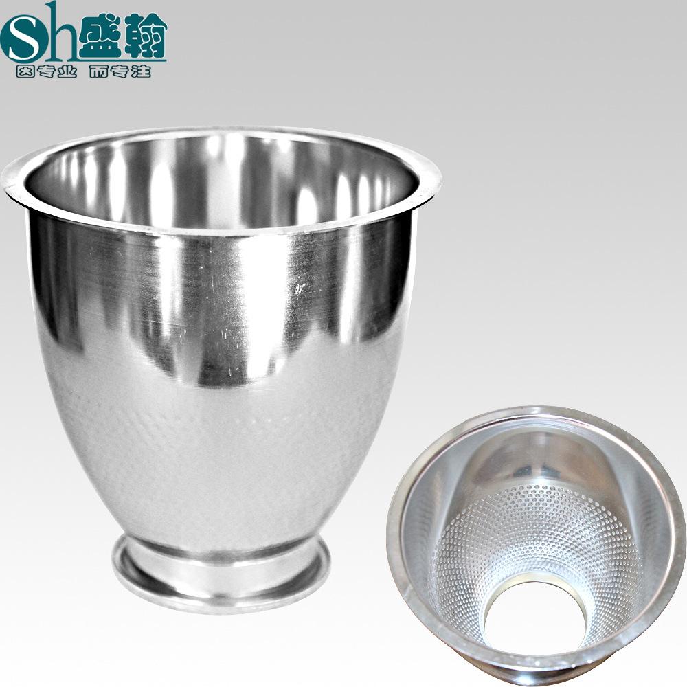 Nhà máy chiếu sáng trực tiếp phụ kiện chiếu sáng phản xạ cup phản xạ nhôm chụp đèn tập trung nhiều 4