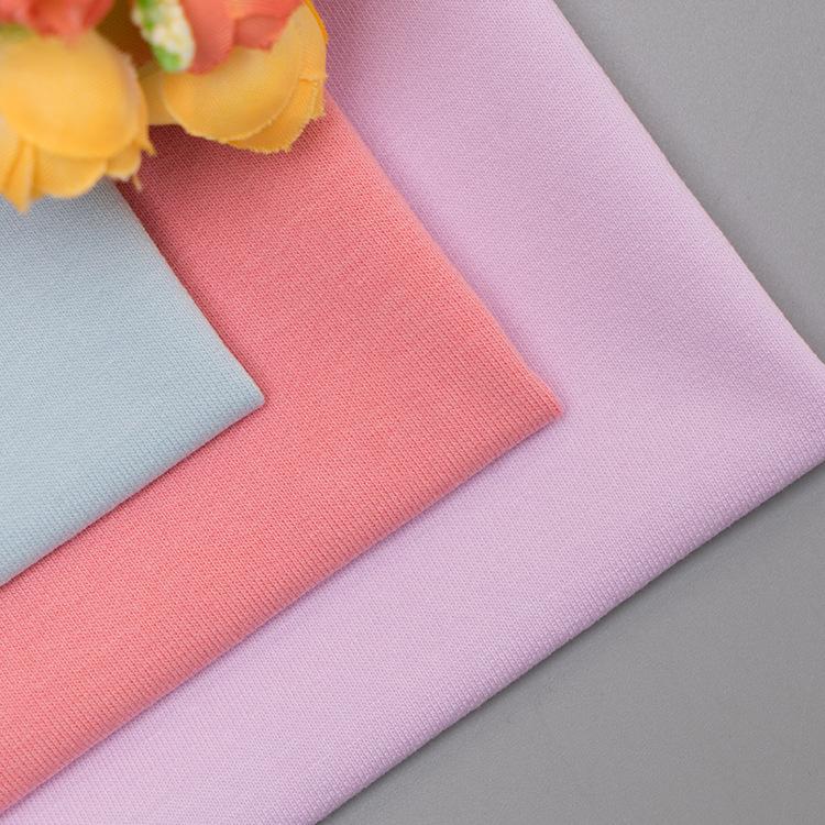 32S Odyssey Twill bông chải kỹ mùa xuân và mùa thu nhỏ áo len vải kéo nhỏ Terry vải dệt kim vải