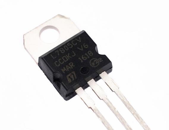 Cung cấp thương hiệu mới ban đầu mạch tích hợp IC L7805CV ST / Ý luật đảm bảo chất lượng Thâm Quyến