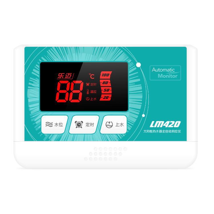 Máy nước nóng năng lượng mặt trời Điều khiển Nhiệt độ nước đặc biệt Nhiệt độ tự động và dụng cụ điều