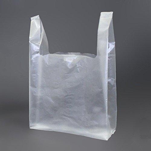 Thêm dày vật liệu mới trong suốt thực phẩm túi nhựa vest túi vest túi tote túi mua sắm túi thuận tiệ