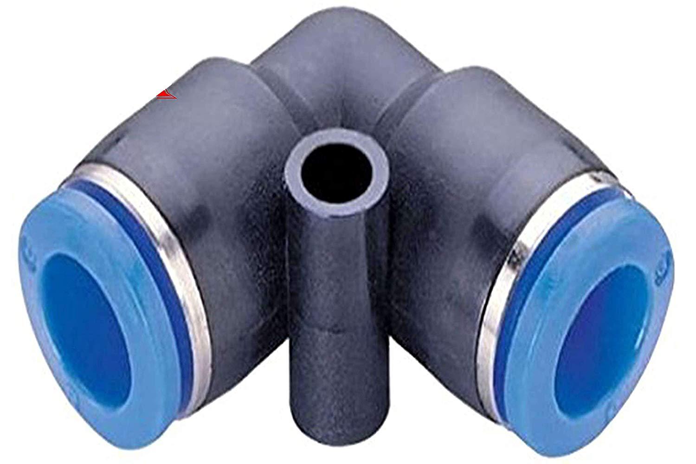Nhựa đẩy kết nối đẩy ống doanh khuỷu tay 12 mét tay đẩy cho các bộ phận khí nén 5 cái