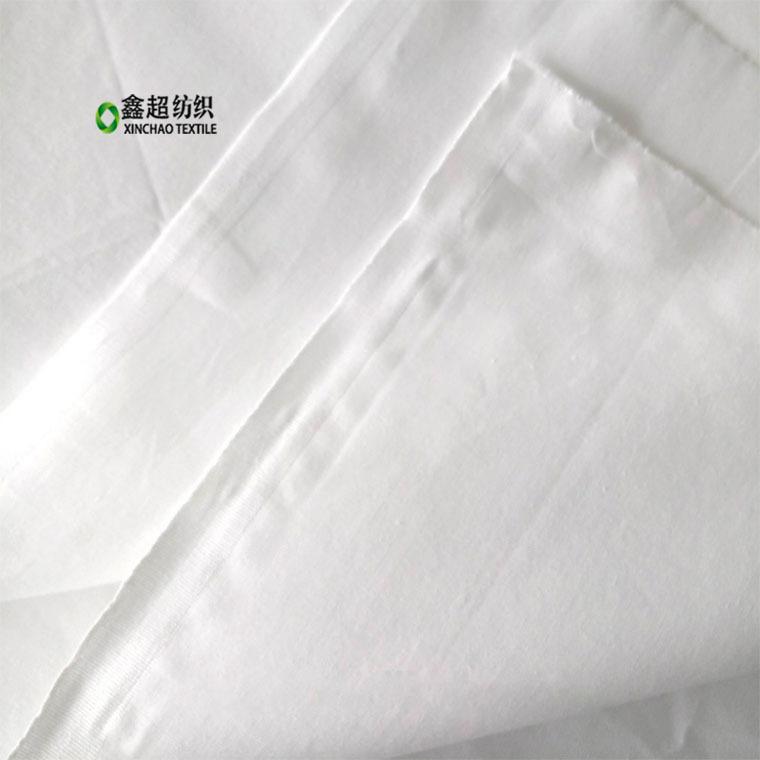 CVC tốt twill vải màu xám tẩy trắng nhà sản xuất vải bán buôn TC pha trộn dệt đồng bằng twill váy po
