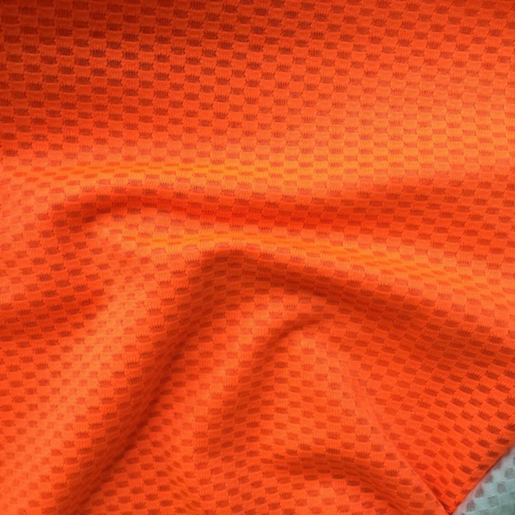 Nhà sản xuất đơn hàng vải dệt nổi hàng yếu coolmax hút ẩm POLO tốc độ làm áo thun áo vải