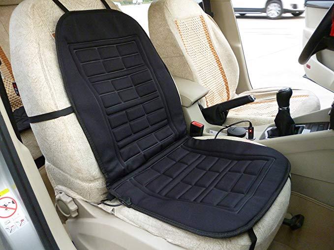 Xiangshun ủ xe sưởi ấm đệm sưởi ấm đệm ghế duy nhất pad mùa đông ghế đệm sưởi ấm chỗ ngồi (màu đen)
