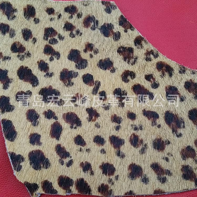 Tem lông nguyên cái đầu ngựa được áp dụng cho lớp da da da giày túi. [hình]